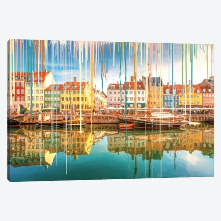Sunshine Reveals Vibrant Color Canvas Print #LCL20} by 5by5collective Canvas Artwork