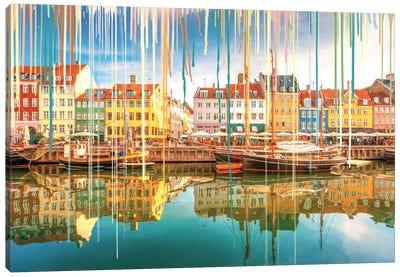 Sunshine Reveals Vibrant Color Canvas Art Print