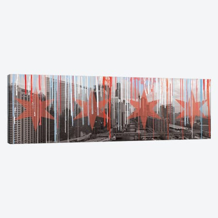 The Windy City Canvas Print #LCL21} by 5by5collective Canvas Artwork
