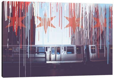 Transit In Style Canvas Art Print