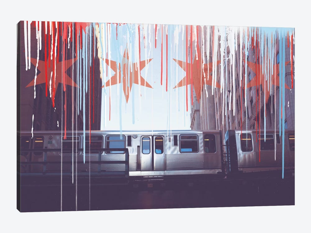 Transit In Style by 5by5collective 1-piece Art Print