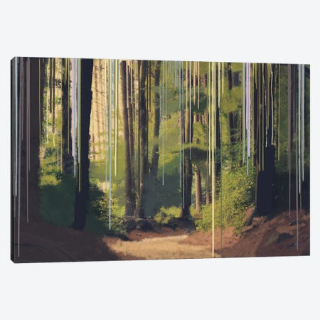 Become One With Nature Canvas Print #LCL2} by 5by5collective Canvas Art
