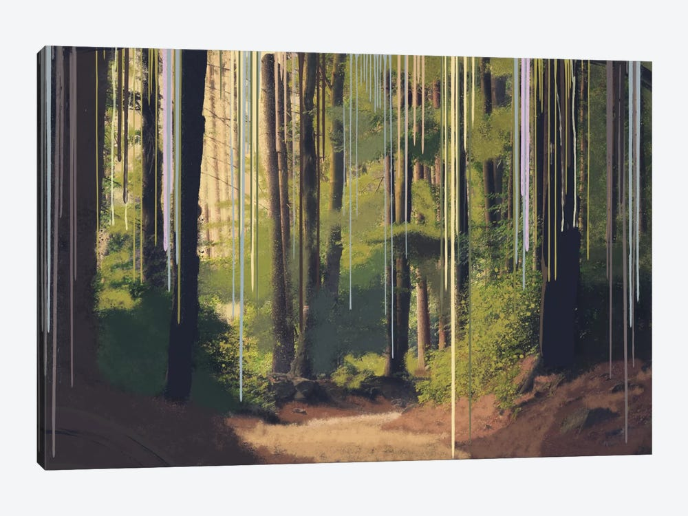 Become One With Nature by 5by5collective 1-piece Canvas Artwork