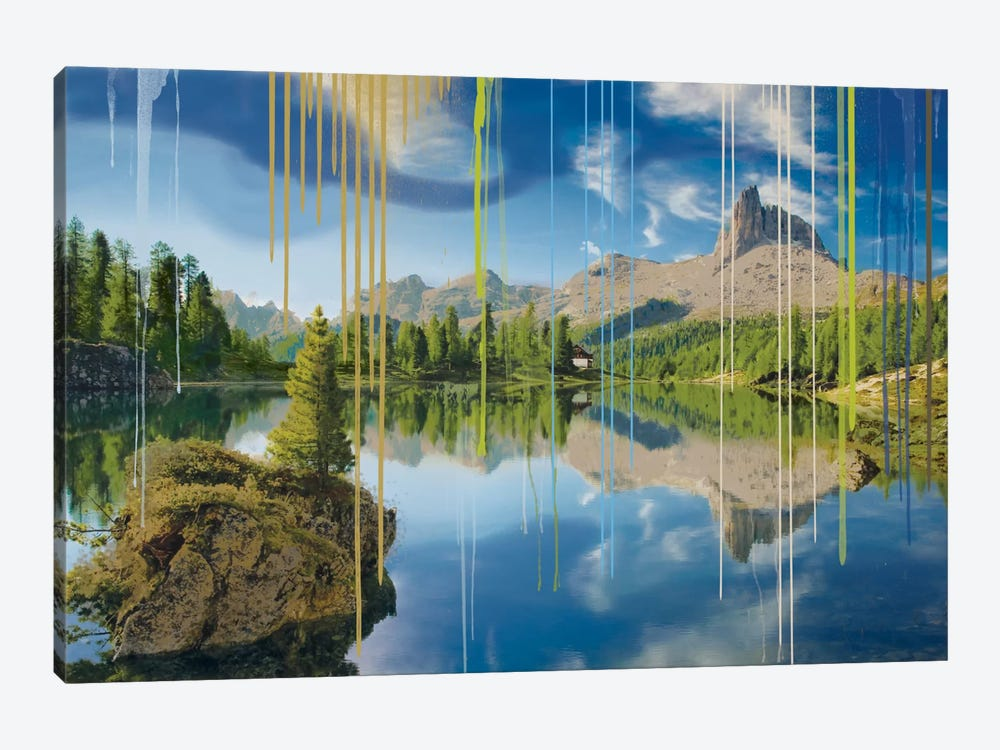 Camping In July by 5by5collective 1-piece Canvas Print