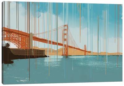 Gridlock Canvas Art Print