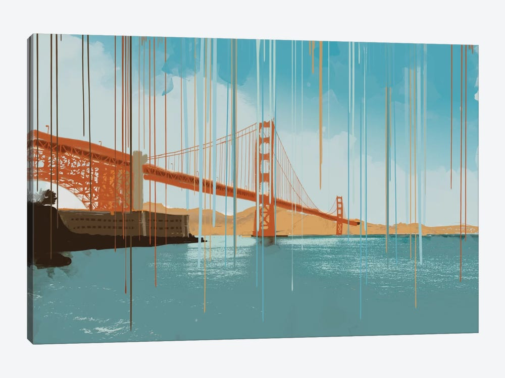Gridlock by 5by5collective 1-piece Canvas Print