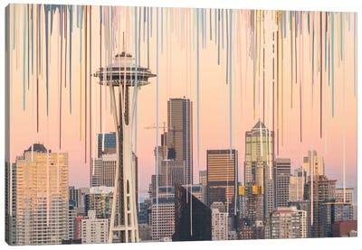 Hello Seatlle Canvas Art Print