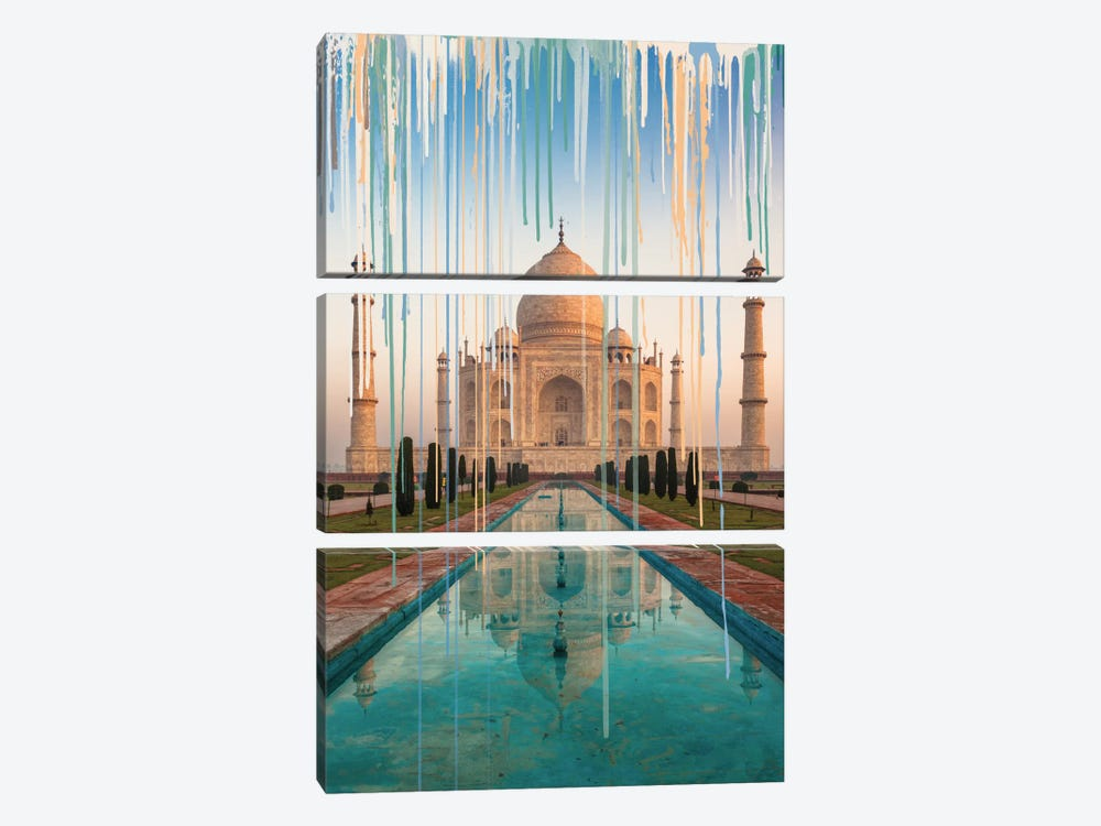 Idealistic With Capital by 5by5collective 3-piece Canvas Art