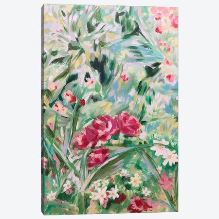Floral Design I 3-Piece Canvas #LCM10} by Lauren Combs Canvas Art
