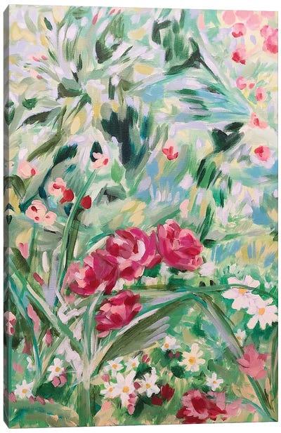 Floral Design I Canvas Art Print
