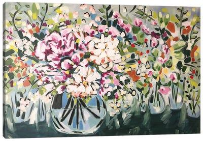 Flowers In Vases Canvas Art Print