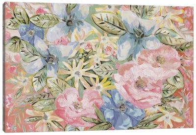 Funky Floral Canvas Art Print