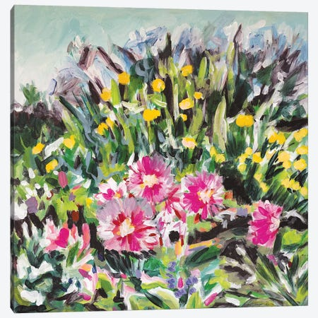 Giverny Favorite Canvas Print #LCM21} by Lauren Combs Canvas Art Print