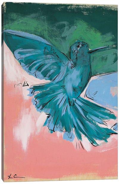 Hummingbird Love I Canvas Art Print
