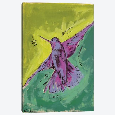 Hummingbird Love II Canvas Print #LCM28} by Lauren Combs Canvas Art Print