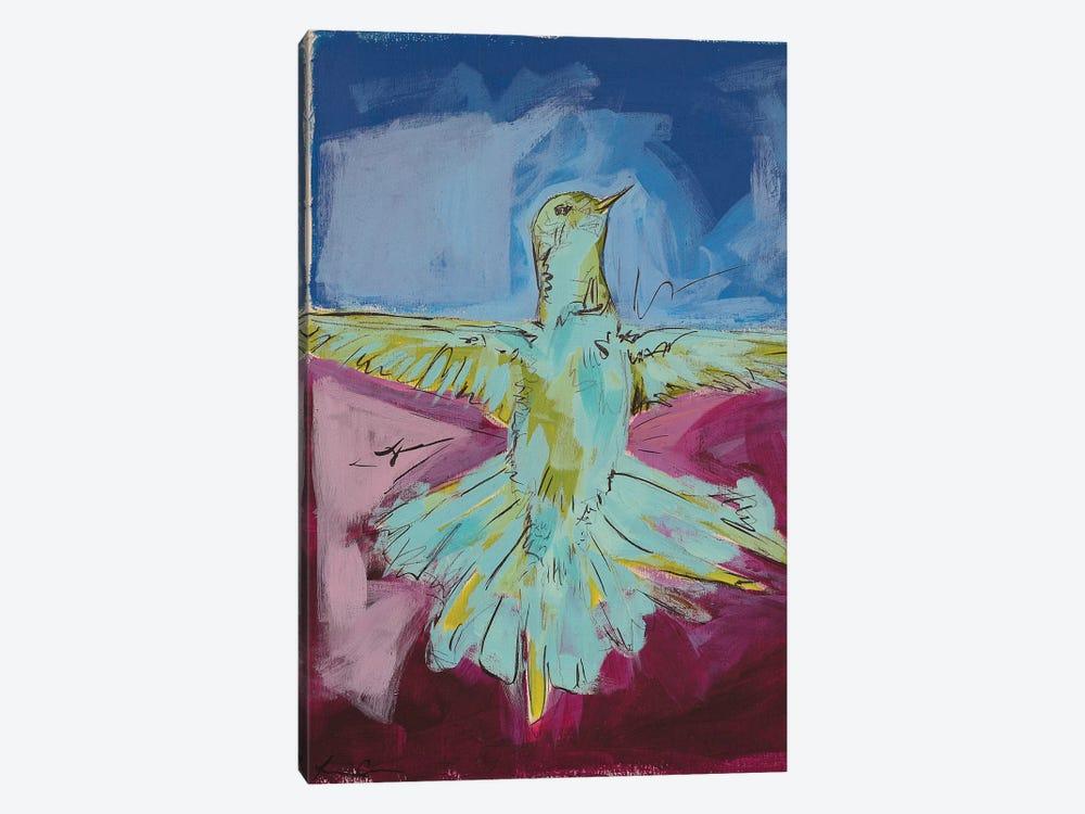 Hummingbird Pride I by Lauren Combs 1-piece Canvas Wall Art