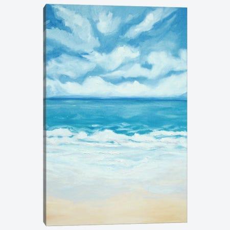 Beach Views Canvas Print #LCM2} by Lauren Combs Art Print