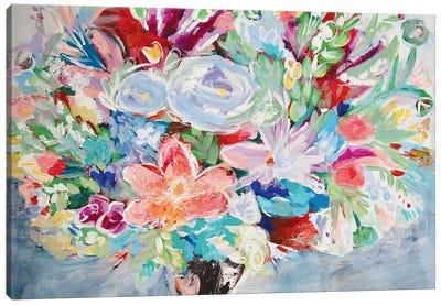 Movement Of Flowers Canvas Art Print