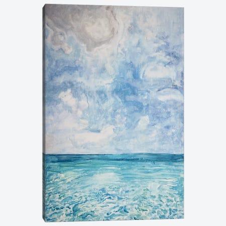 Peaceful Beach Canvas Print #LCM38} by Lauren Combs Canvas Wall Art