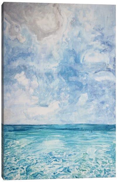 Peaceful Beach Canvas Art Print