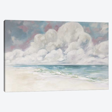 Peaceful Coast Canvas Print #LCM39} by Lauren Combs Canvas Wall Art
