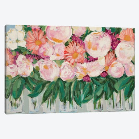 Peonies And Things Canvas Print #LCM40} by Lauren Combs Art Print