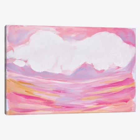 Pink Skies Canvas Print #LCM41} by Lauren Combs Canvas Art Print