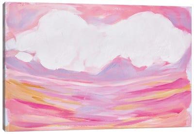 Pink Skies Canvas Art Print