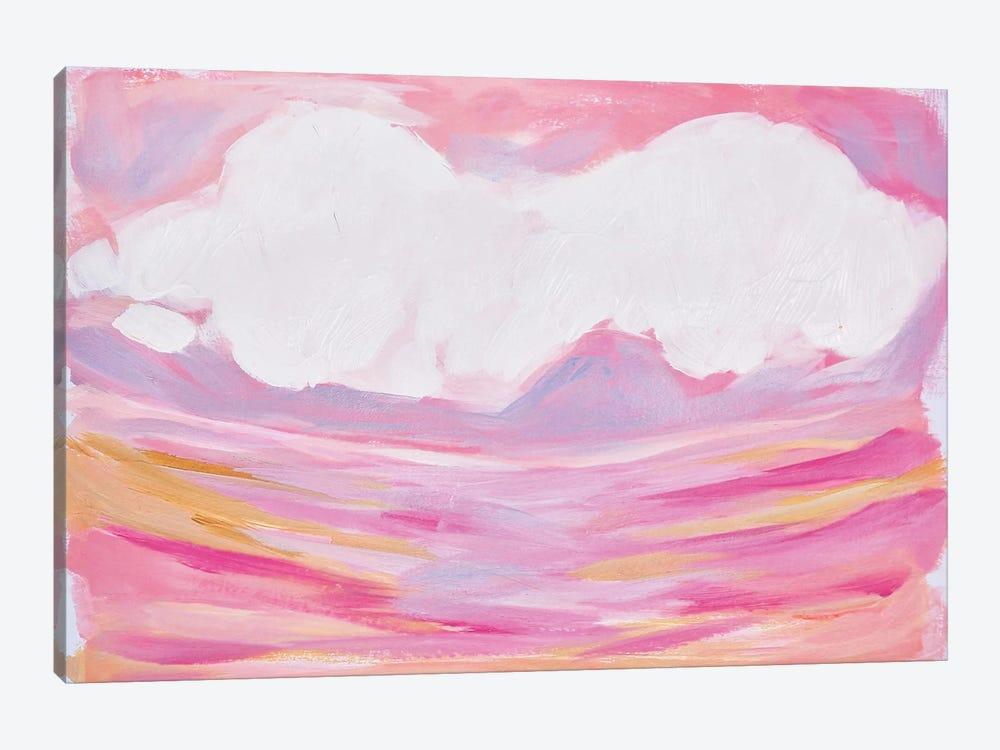 Pink Skies by Lauren Combs 1-piece Canvas Art