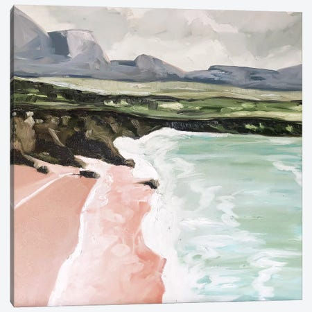 Scotland Beach Canvas Print #LCM45} by Lauren Combs Canvas Artwork