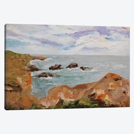 Scottish Shores Canvas Print #LCM46} by Lauren Combs Canvas Art