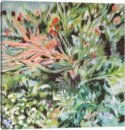 Boho In France Canvas Art Print