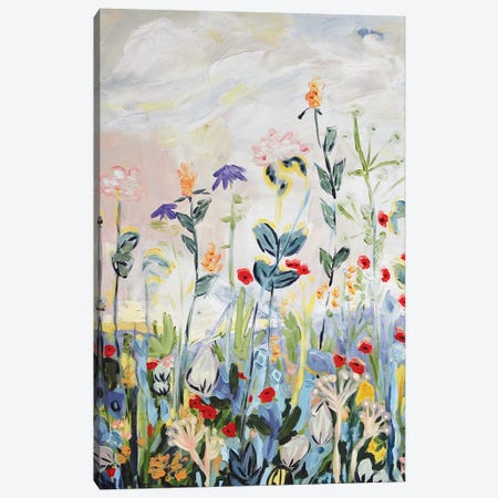 Up We Grow 3-Piece Canvas #LCM54} by Lauren Combs Canvas Print