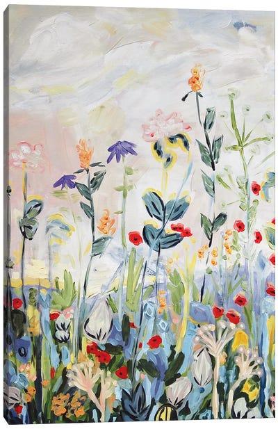 Up We Grow Canvas Art Print