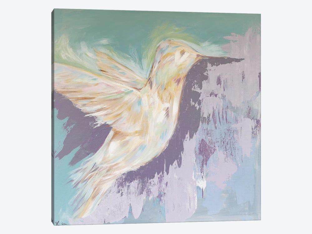 Violet by Lauren Combs 1-piece Canvas Wall Art