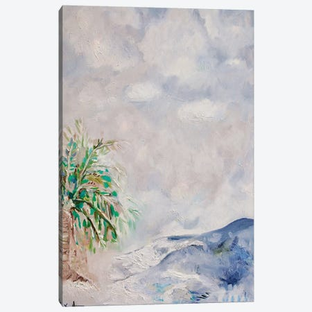 Crashing Waves Canvas Print #LCM59} by Lauren Combs Canvas Wall Art