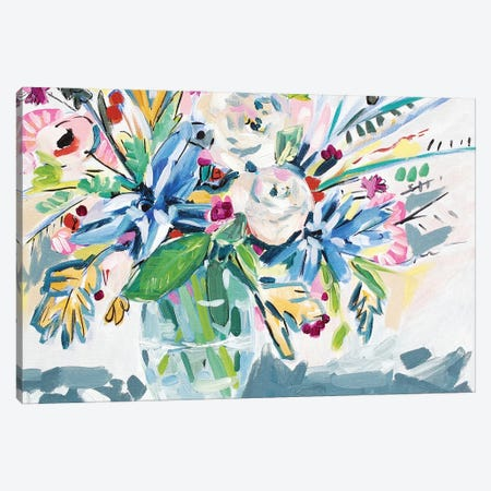 Bright Boquet Canvas Print #LCM5} by Lauren Combs Canvas Artwork