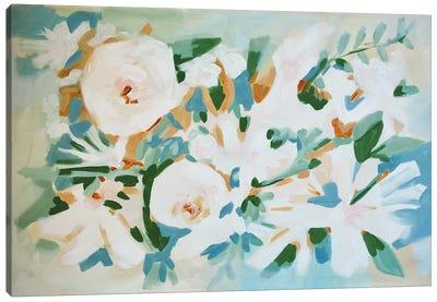 Deconstructed Floral Canvas Art Print