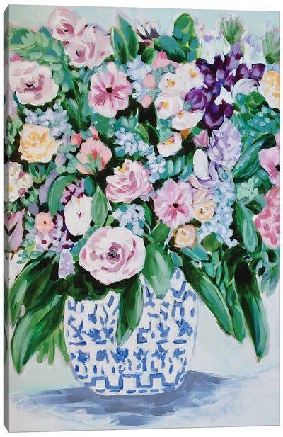 Fliesta Flowers Canvas Art Print