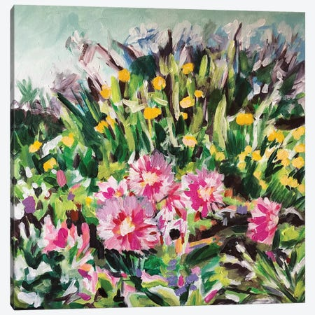 Giverny Favorite Canvas Print #LCM64} by Lauren Combs Canvas Art