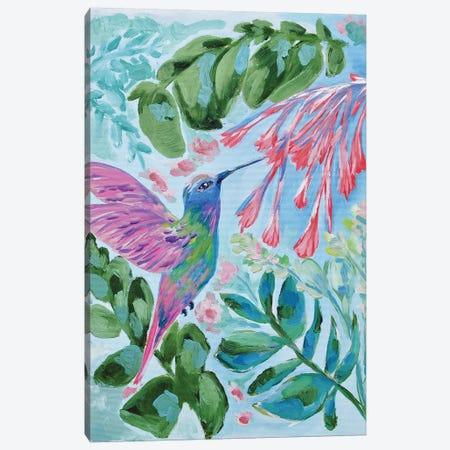 Hummingbird In Flight Canvas Print #LCM65} by Lauren Combs Canvas Artwork