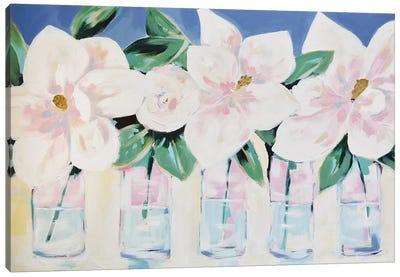 Magnolias Forever Canvas Art Print