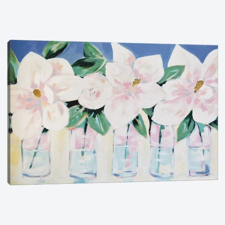 Magnolias Forever Canvas Print #LCM67} by Lauren Combs Canvas Art