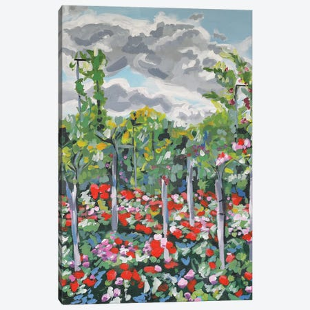 Climbing Garden Canvas Print #LCM6} by Lauren Combs Canvas Wall Art