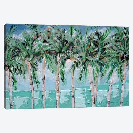 Boca Palms Canvas Print #LCM72} by Lauren Combs Canvas Artwork