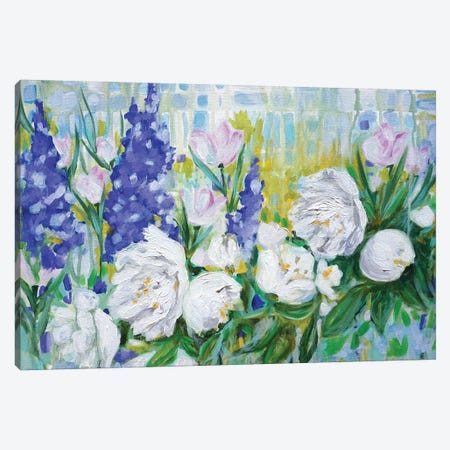English Garden 3-Piece Canvas #LCM74} by Lauren Combs Canvas Print