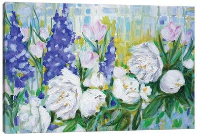 English Garden Canvas Art Print