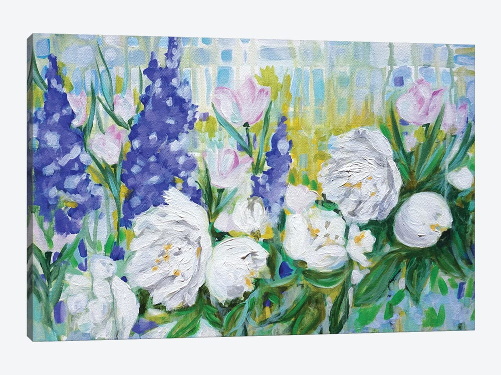English Garden by Lauren Combs 1-piece Canvas Art