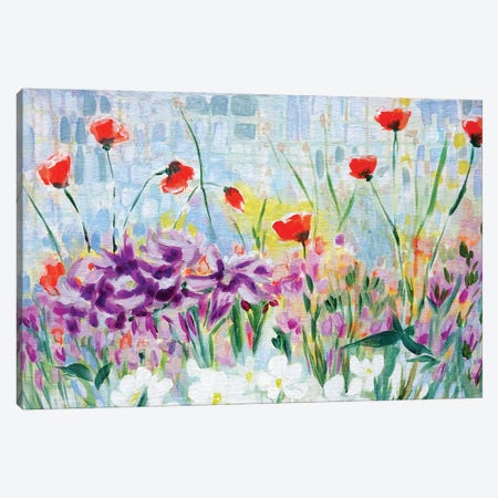 Garden of Lillies Canvas Print #LCM75} by Lauren Combs Canvas Print