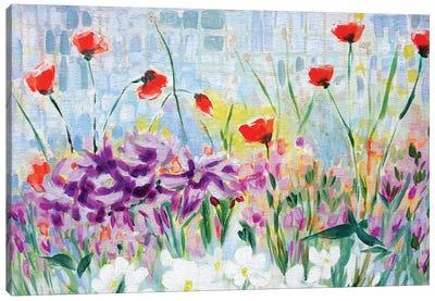 Garden of Lillies Canvas Art Print